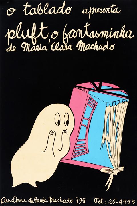 """Resultado de imagem para """"Pluft, o fantasminha"""", de 1955"""
